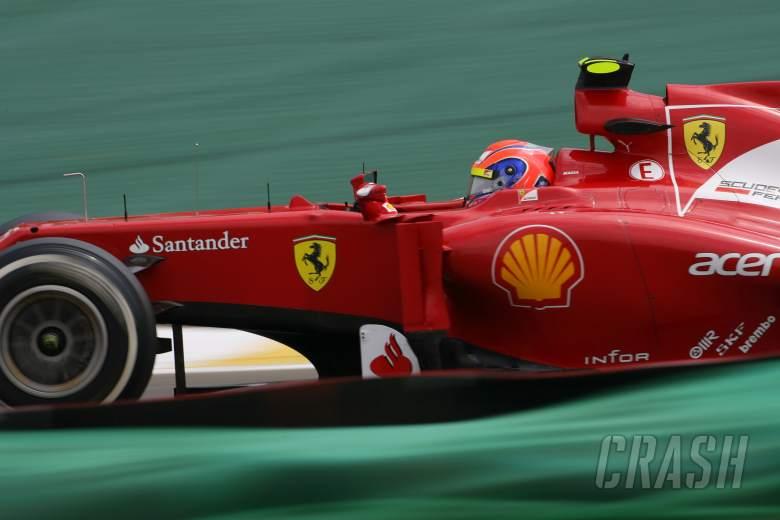 24.11.2012- Qualifying, Felipe Massa (BRA) Scuderia Ferrari F2012