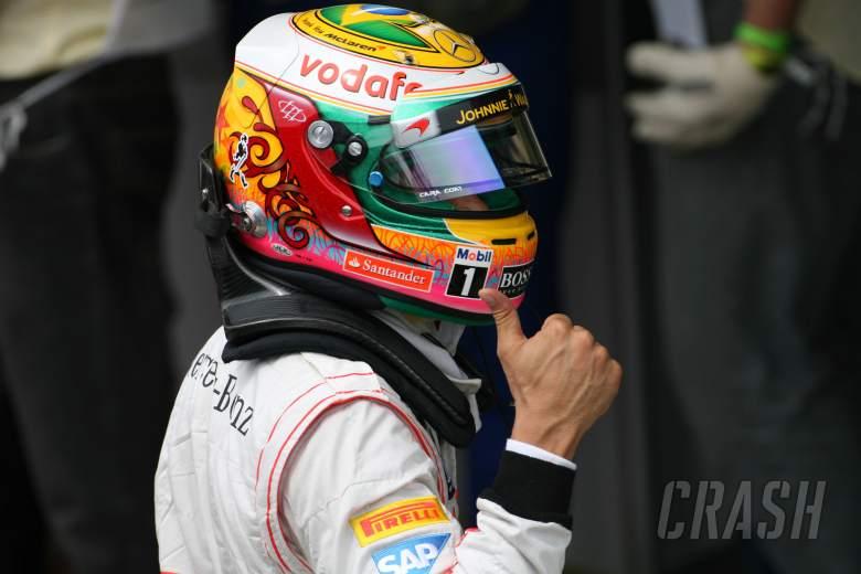 24.11.2012- Qualifying, Lewis Hamilton (GBR) McLaren Mercedes MP4-27 pole position