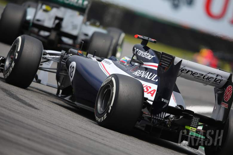 24.11.2012- Qualifying, Pastor Maldonado (VEN) Williams F1 Team FW34