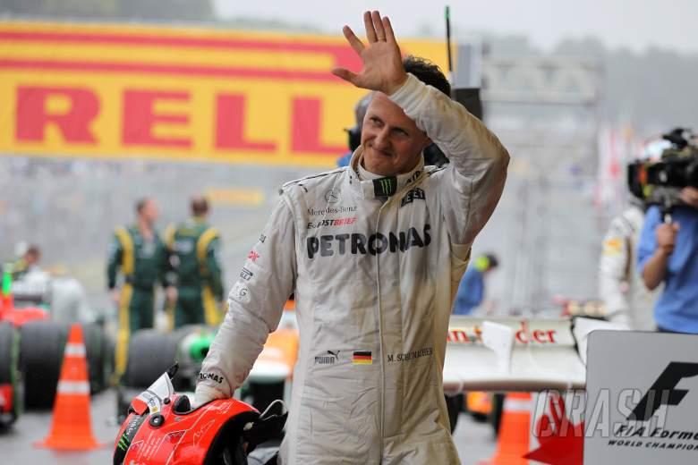 25.11.2012- Race, Michael Schumacher (GER) Mercedes AMG F1 W03