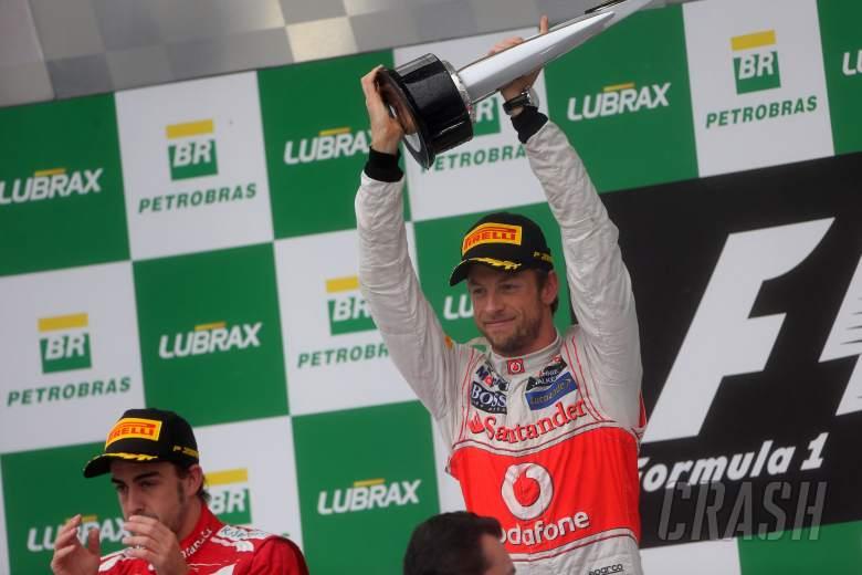, , 25.11.2012- Race, Jenson Button (GBR) McLaren Mercedes MP4-27 race winner