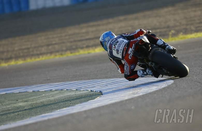Checa, Jerez tests November 2012