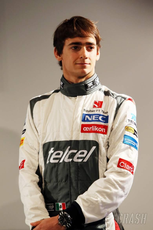 Esteban Gutierrez (MEX) Sauber.