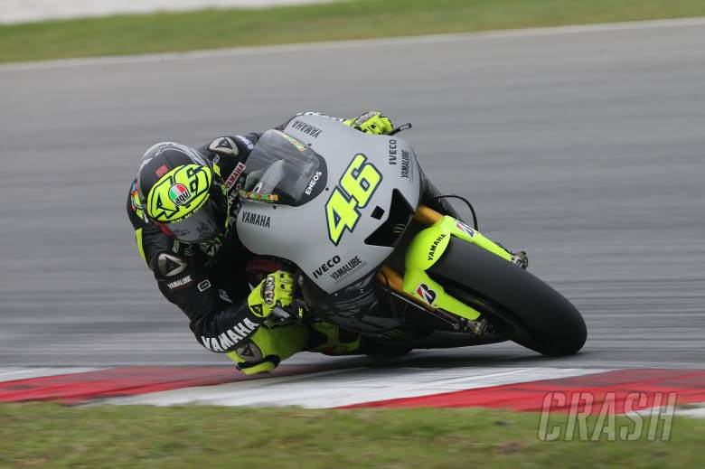 Rossi, Sepang 1 tests, February 2013