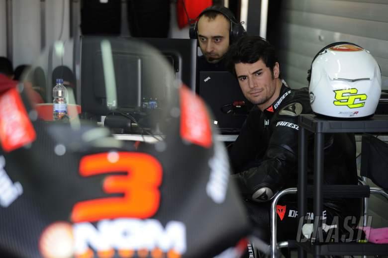 Corsi, Valencia Moto2 Test Jan 2013