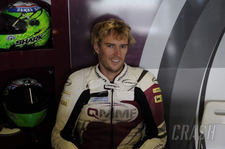 West, Jerez Moto2 Test Feb 2013