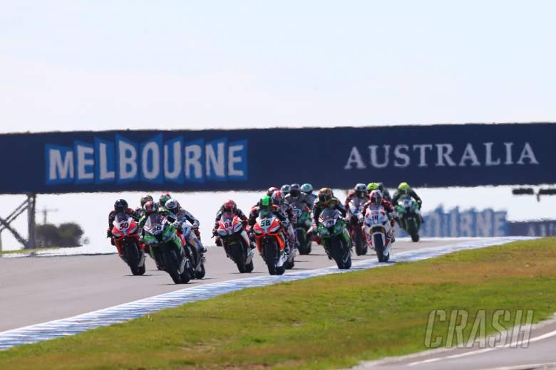 ,  - Sykes leads start, Australian WSBK 2013, race 2