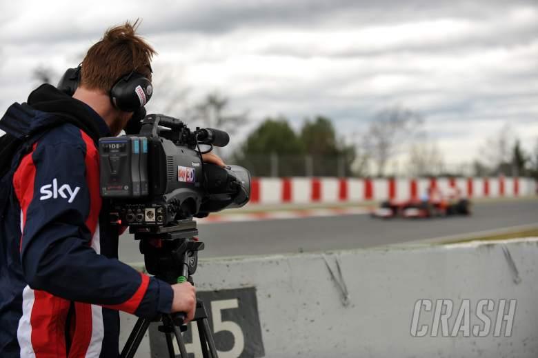 ,  - Sky F1 3D cameraman films Fernando Alonso (ESP) Ferrari F138.01.03.2013.