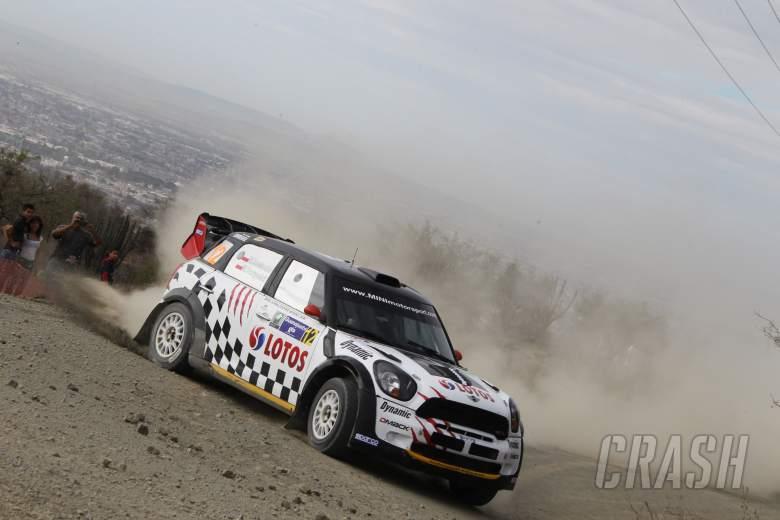 , Michal Kosciuszko (PL) Maciek Szczepaniak (PL), Mini John Cooper Works WRC