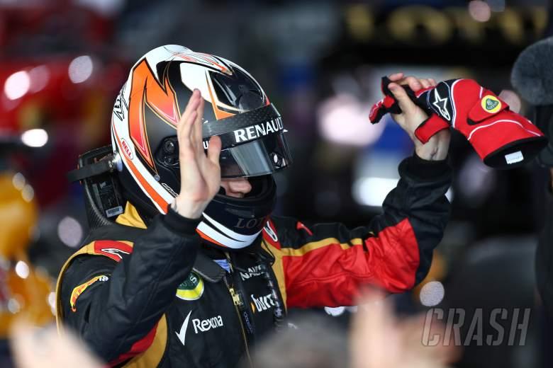 17.03.2013- Race, Kimi Raikkonen (FIN) Lotus F1 Team E21 race winner