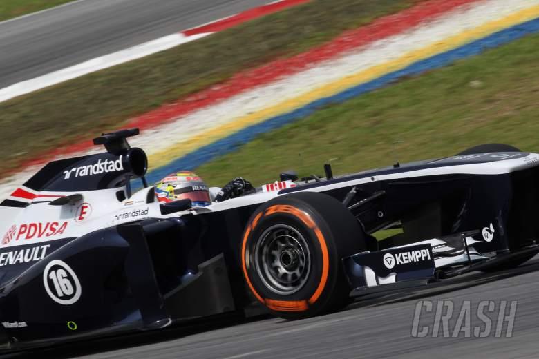 22.03.2013- Free Practice 1, Pastor Maldonado (VEN) Williams F1 Team FW35