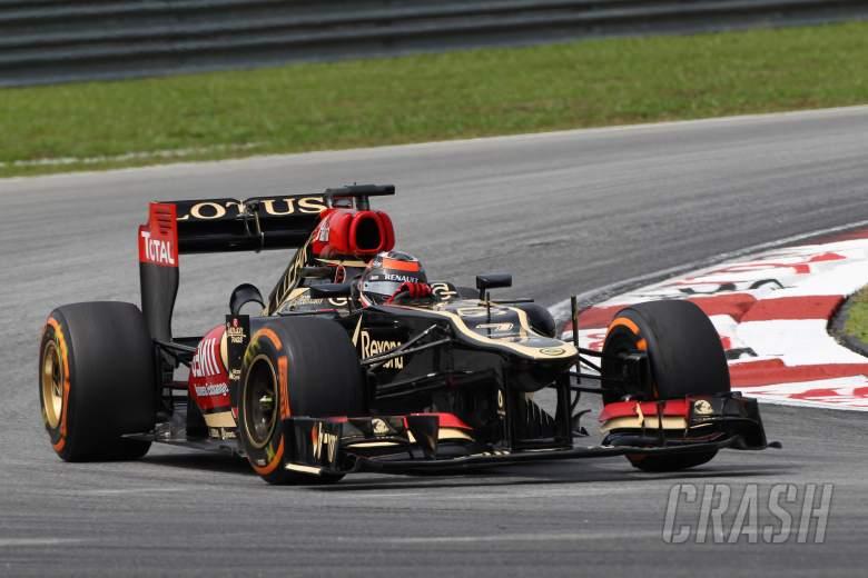 22.03.2013 - free practice 2, Kimi Raikkonen (FIN) Lotus F1 Team E21