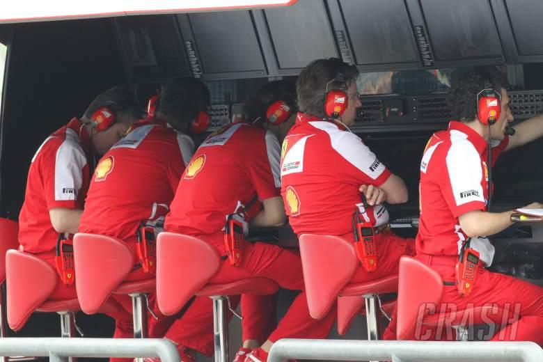 23.03.2013 - Free practice 3, Ferrari Pitwall