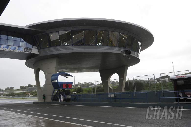 Circuit, Rain, Jerez MotoGP Test March 2013