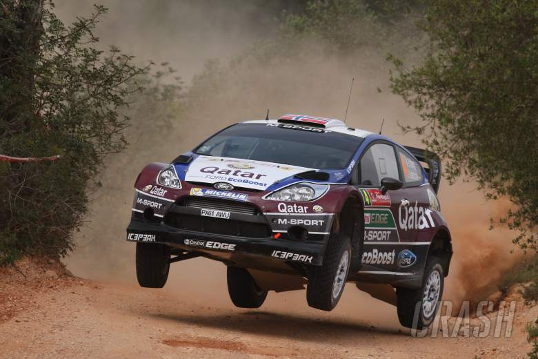 Mads Ostberg (NOR) Jonas Andersson (SUE), Ford Fiesta RS WRC, Qatar M-Sport World Rally Team