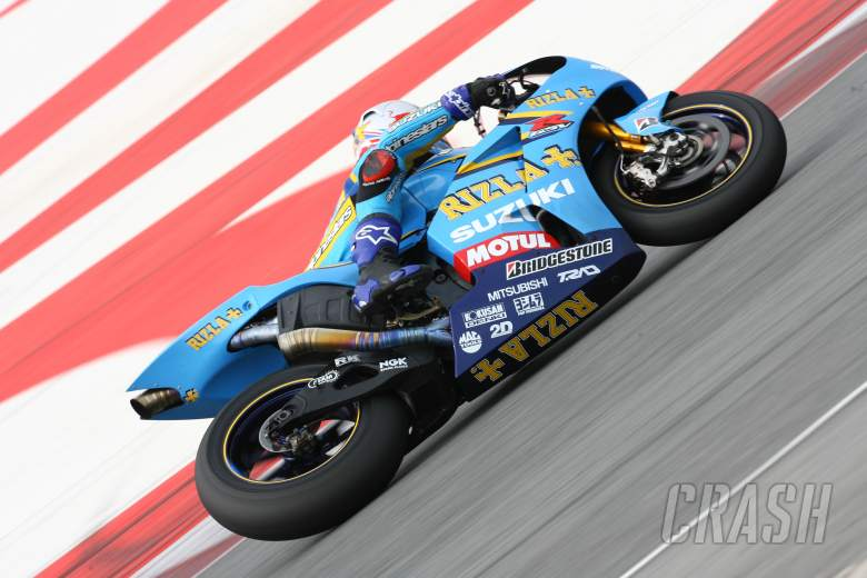 Hopkins, Barcelona IRTA MotoGP test, 2006