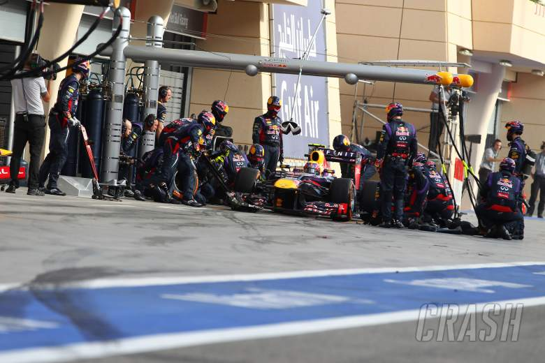 21.04.2013- Race, Mark Webber (AUS) Red Bull Racing RB9