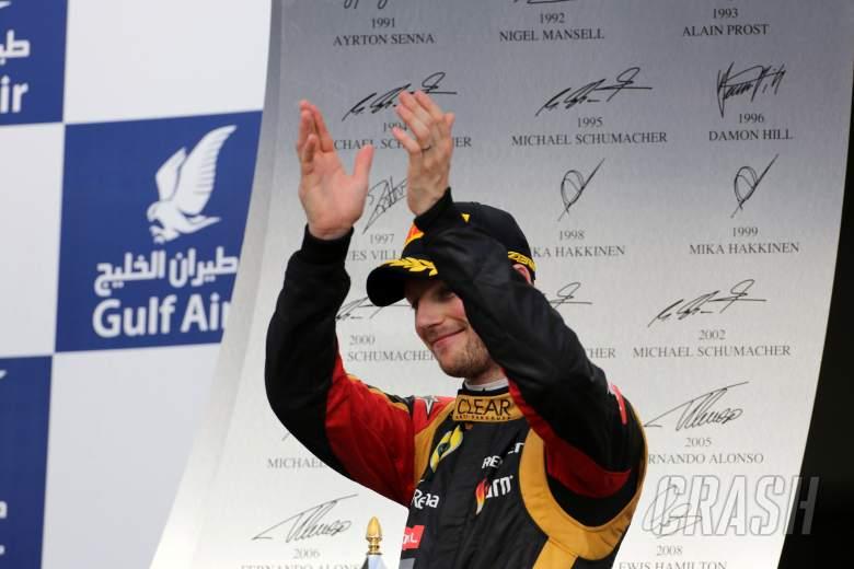,  - 21.04.2013- Race, 3rd position Romain Grosjean (FRA) Lotus F1 Team E21