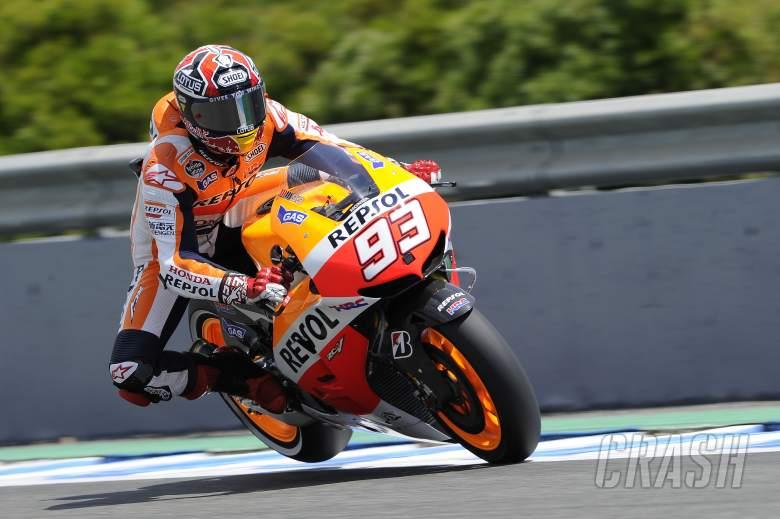 Marquez, Braking, Spanish MotoGP 2013