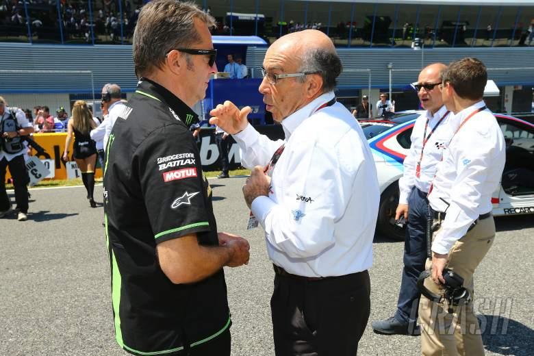 Poncharal and Ezpeleta, Spanish MotoGP 2013