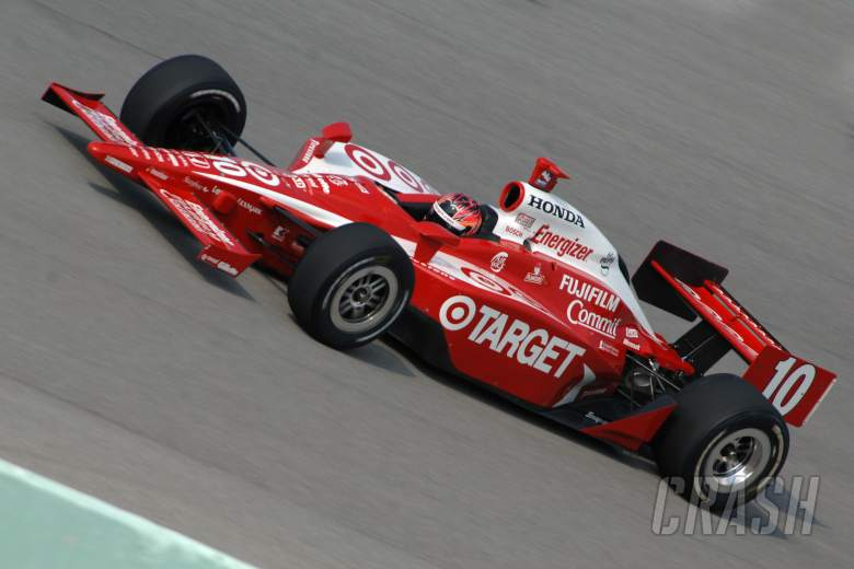 , Dan Wheldon, Target Chip Ganassi Racing Dallara-Honda, Homestead spring training 2006.