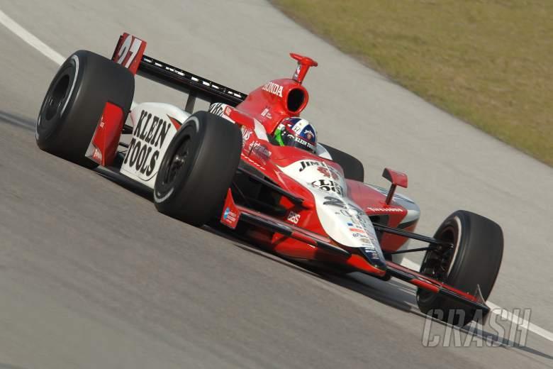 , Dario Franchitti, Andretti-Green Racing Dallara-Honda, Homestead spring training 2006.