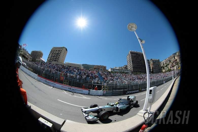 23.05.2013- Free Practice 2, Nico Rosberg (GER) Mercedes AMG F1 W04