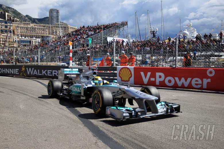 25.05.2013- Free Practice 3,Nico Rosberg (GER) Mercedes AMG F1 W04