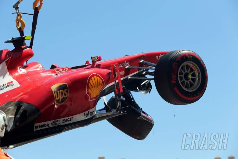 ,  - 26.05.2013- Race, Crash, Felipe Massa (BRA) Scuderia Ferrari F138