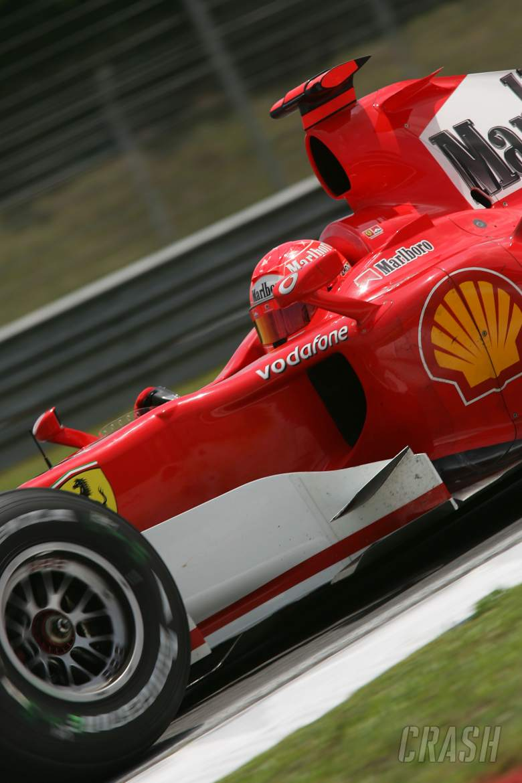 ,  - Michael Schumacher - Ferrari 248 F1