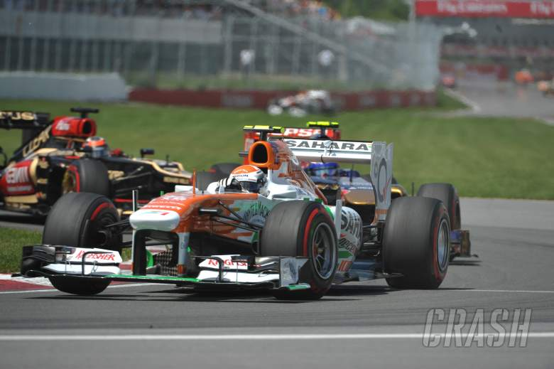 09.06.2013- Race, Adrian Sutil (GER), Sahara Force India F1 Team VJM06