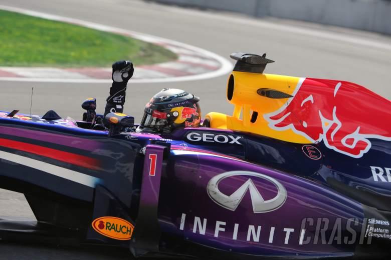 , , 09.06.2013- Race, Sebastian Vettel (GER) Red Bull Racing RB9