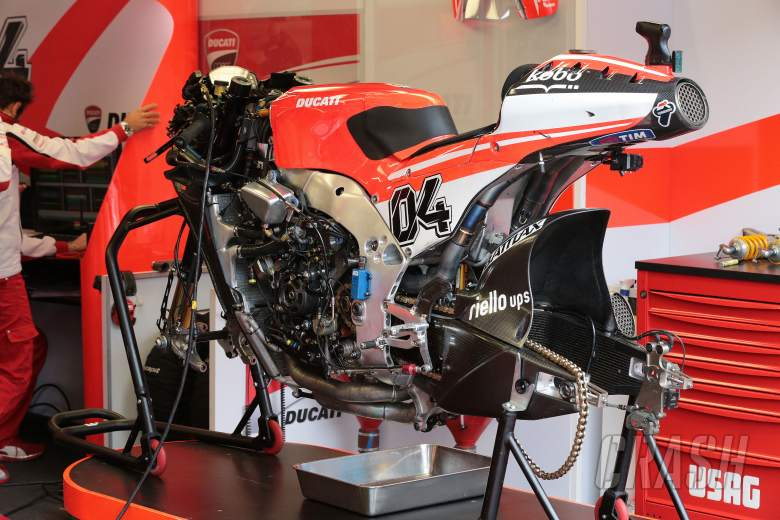 Dovizioso's Ducati, Dutch MotoGP 2013