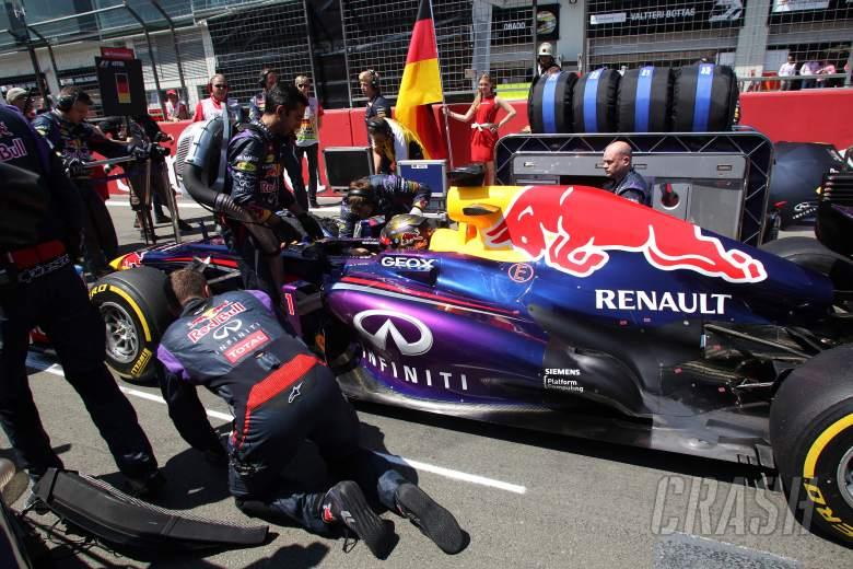 07.07.2013-  Race, Sebastian Vettel (GER) Red Bull Racing RB9