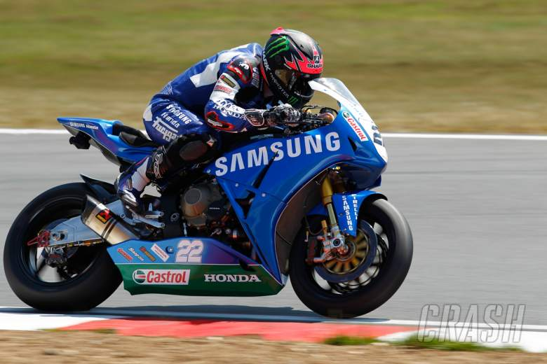 Alex Lowes Samsung Honda - picture credit Ian Hopgood Photography