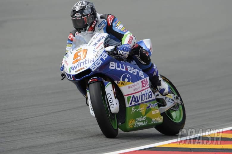 ,  - Kyle Smith, Braking, German Moto2 2013