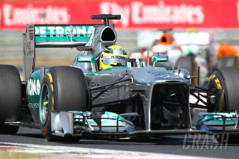 28.07.2013- Race, Nico Rosberg (GER) Mercedes AMG F1 W04