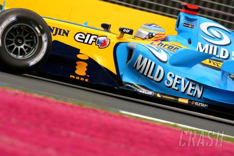 31.03.2006 Melbourne, Australia, . Fernando Alonso (ESP), Renault F1 Team - Formula 1 World Champion