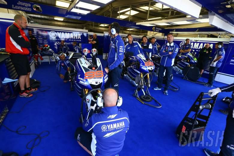 ,  - Lorenzo garage, British MotoGP 2013