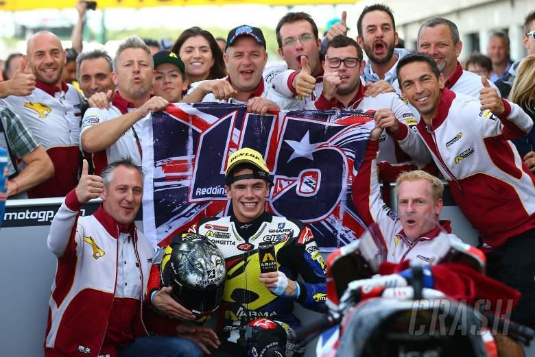 ,  - Redding, Moto2 race, British MotoGP 2013