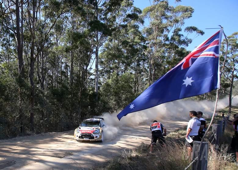 ,  - Kris Meeke (GBR) Chrs Patterson (IRL) Citroen DS3 WRC