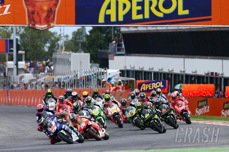 Lorenzo leads start, San Marino MotoGP 2013