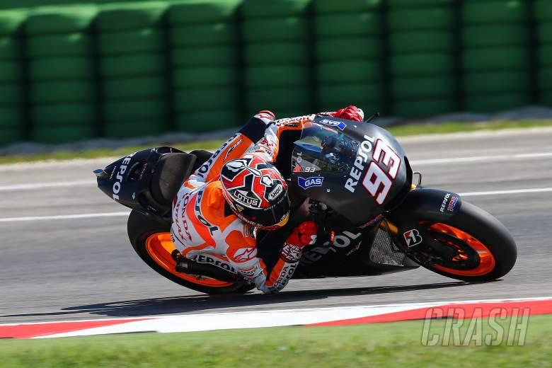 Marquez, Misano MotoGP test, September 2013
