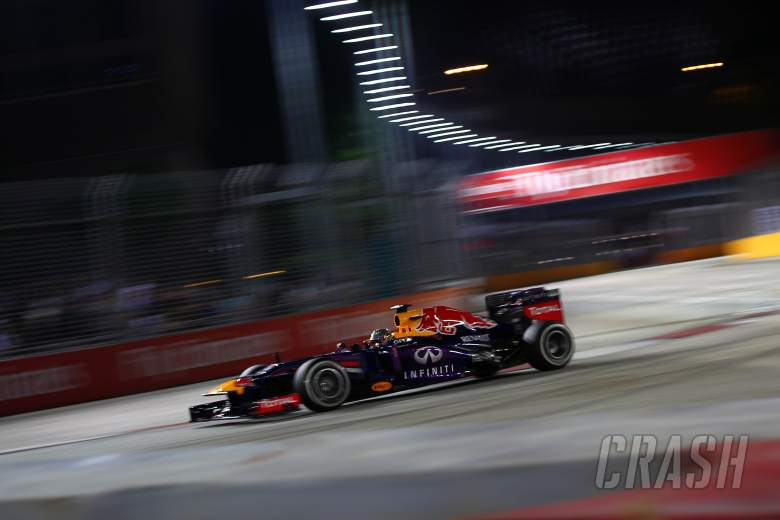 , , 20.09.2013-  Free Practice 1, Sebastian Vettel (GER) Red Bull Racing RB9