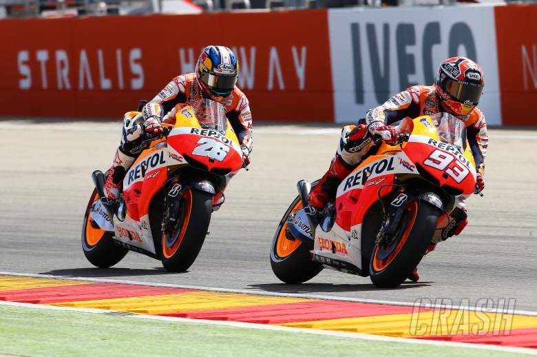 ,  - Marquez and Pedrosa, Aragon MotoGP 2013