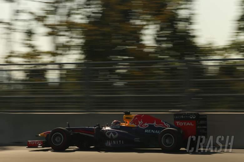 04.10.2013- Free practice 2, Sebastian Vettel (GER) Red Bull Racing RB9