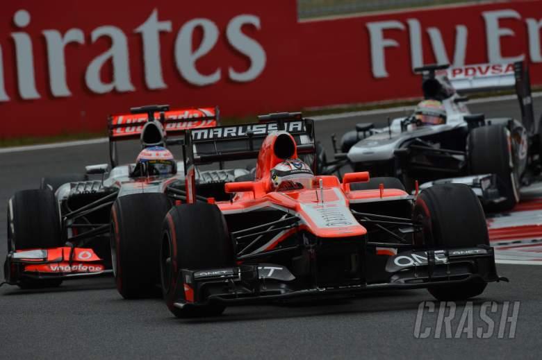 06.10.2013- Race: Jules Bianchi (FRA) Marussia F1 Team MR02