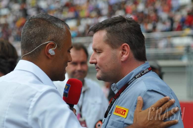 ,  - 06.10.2013- Race: Paul Hembery (GBR) Pirelli Motorspor Directo