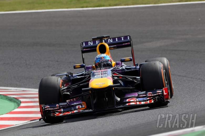12.10.2013- Free Practice 3, Sebastian Vettel (GER) Red Bull Racing RB9