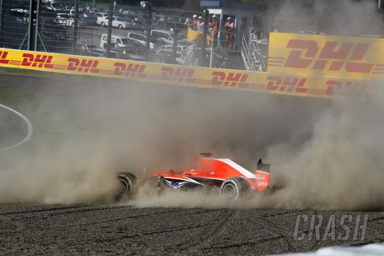 ,  - 13.10.2013- Race, crash, Jules Bianchi (FRA) Marussia F1 Team MR02